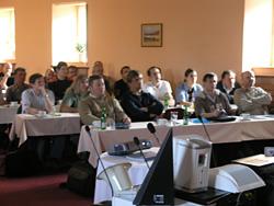 foto z pražského školení 30.11.2006
